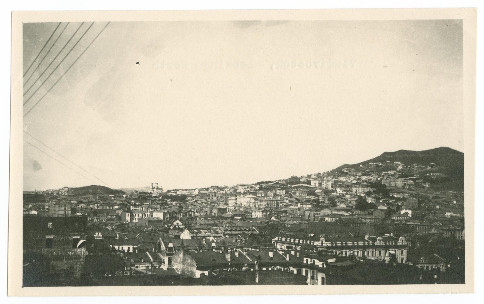 Вид на город с крыши