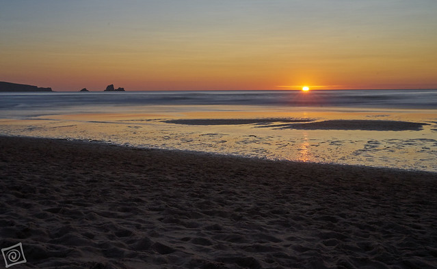Sunset in Valdearenas