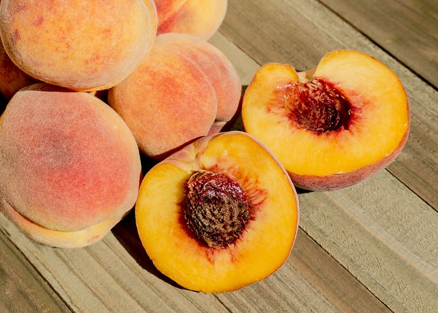 225/365 Freshly Picked Peaches