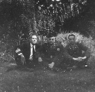 1945-Berlin-074-Dad flanked by Other Officers