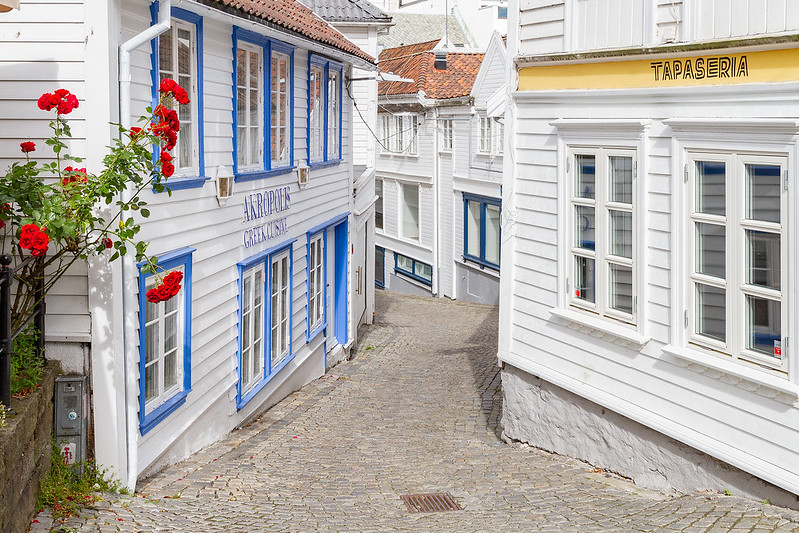 Straße in Stavanger