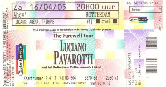 LucianoPavarottiTheFarewellTour2005