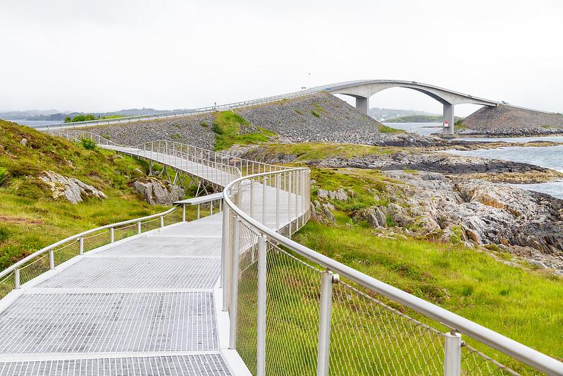 Atlantikstraße-Norwegen