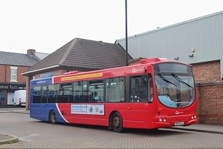 Go North East 5231 / NK55 OLJ