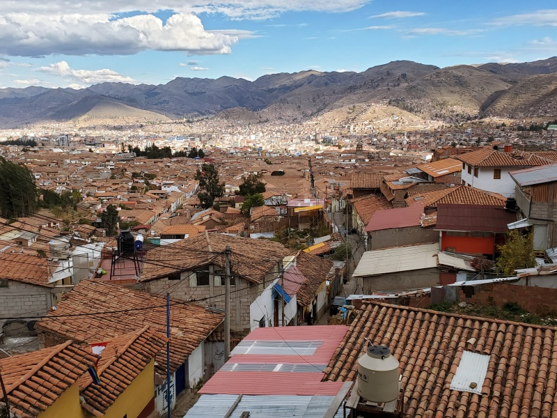 Cusco view from the top