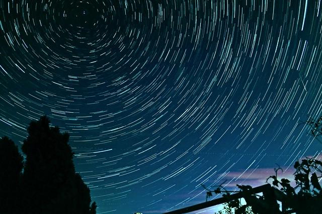 35 Minute Circumpolar Star Trails 13/08/19
