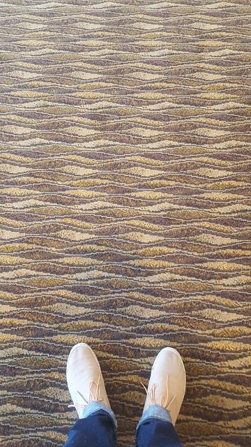 carpet & shoes