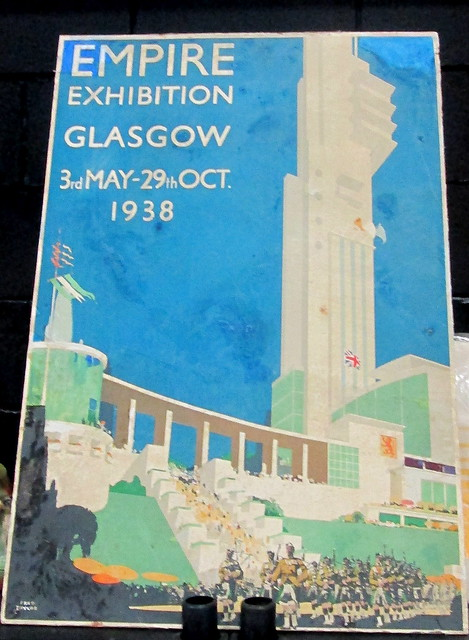 Poster for Empire Exhibition, Glasgow 1938