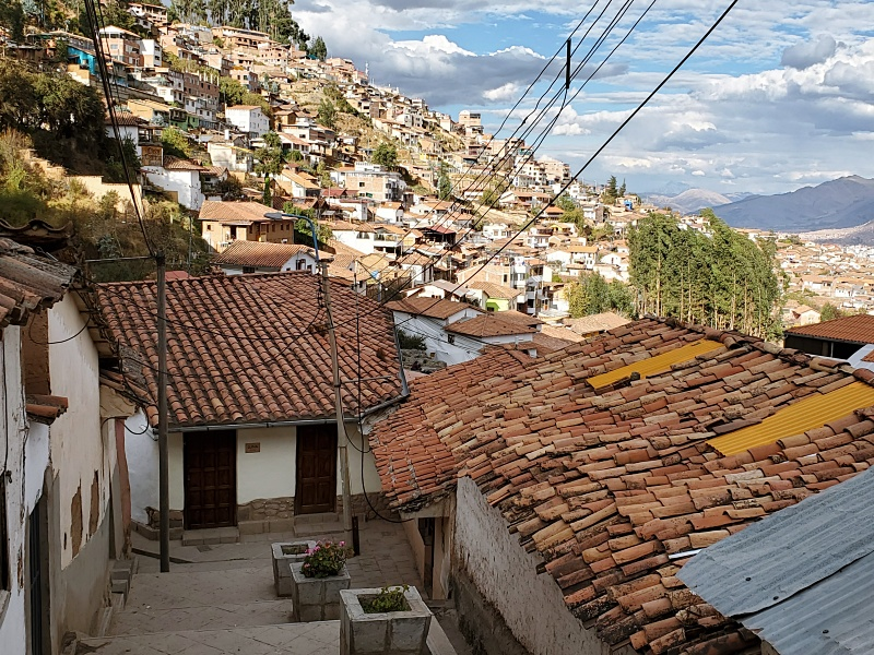 Cusco houses