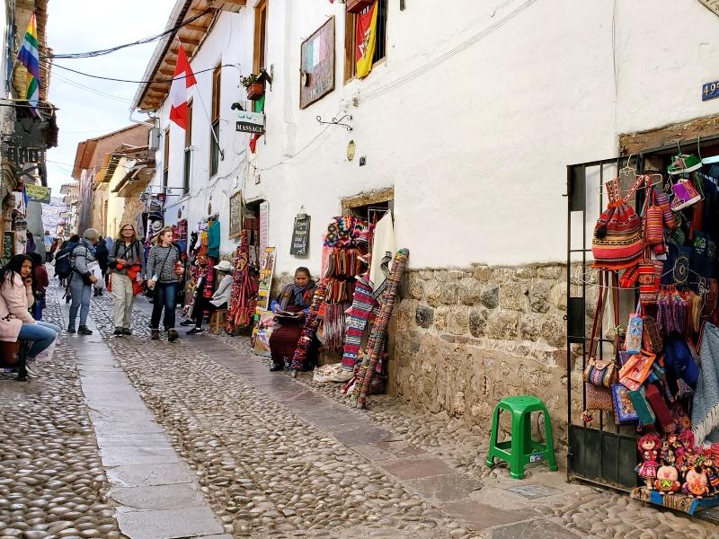 Cusco street vendors