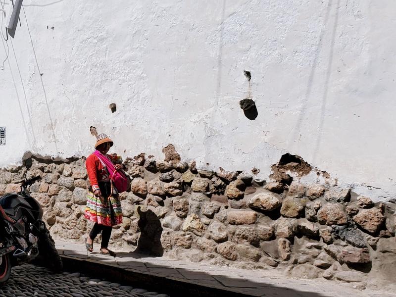 Incan woman