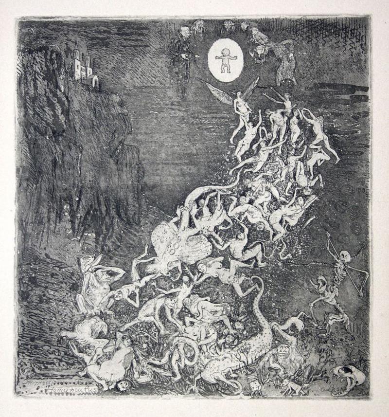 Oskar Laske - Homunculus, 1919