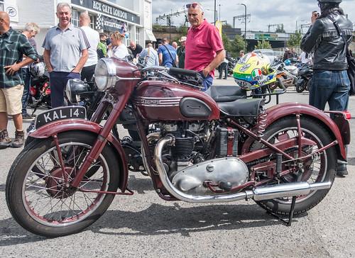Ace Cafe Sunday Triumph 5T 500cc 1948 001