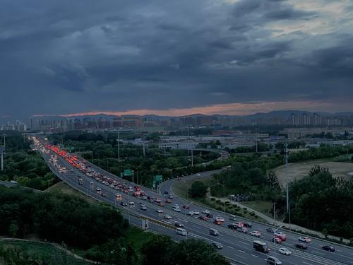 sunset laiguangyingqiao beiwuhuan