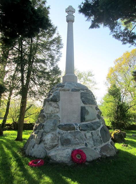 Kilmaronock Parish War Memorial 2