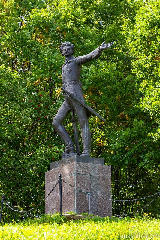 Памятник молодому Петру, Переславль-Залесский