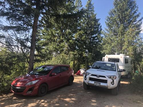 Douglas Provincial Park - Campsite