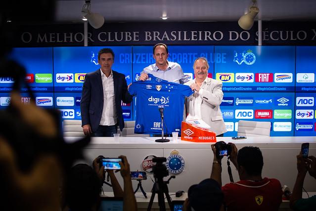 Treino do Cruzeiro 13/08/2019