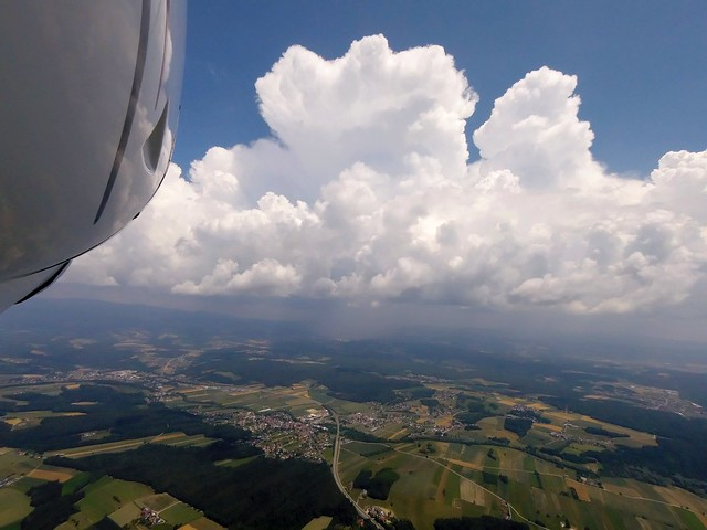 Cumulonimbus ahead (Austria)