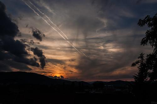 österreich austria autriche steiermark styria sunset sonnenuntergang abend evening dawn dämmerung himmel sky wolken clouds d90 everythingnature