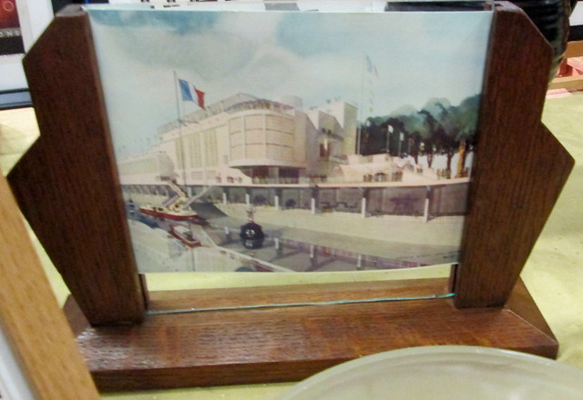 Framed Photo of Art Deco Building