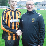 Josh Cannell with Coach Iain Ralston