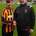 Dillon Farquhar with Coach Iain Ralston