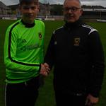 Cameron Middleton with Coach Iain Ralston