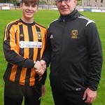 Rowan Millar with Coach Iain Ralston