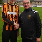 Craig Stewart with Coach Iain Ralston
