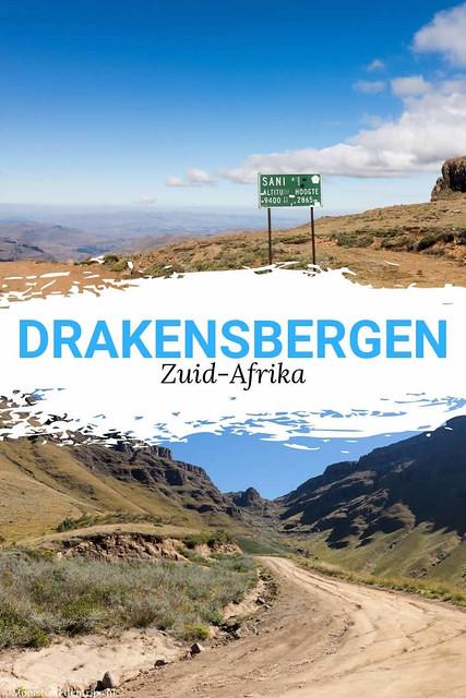 Drakensbergen Zuid-Afrika, tips over Drakensbergen en Sani Pass | Mooistestedentrips.nl