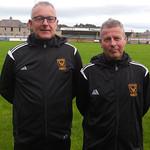 Coaches Iain Ralston & Raymond Mathers