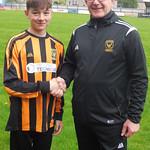 Owen Morris with Coach Iain Ralston
