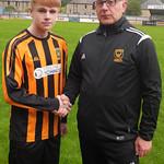 Ewan Skinner with Coach Iain Ralston