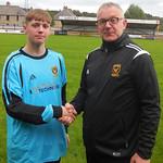 Sandy Watt with Coach Iain Ralston