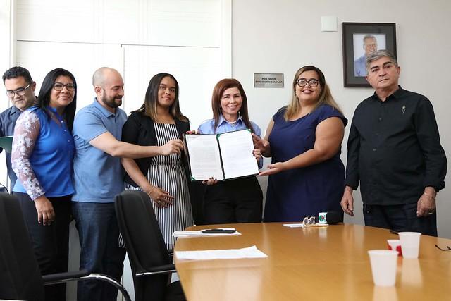 13.08.2019 Parcerias - Prefeitura assina termos de cooperação técnica para 680 vagas de curso de capacitação