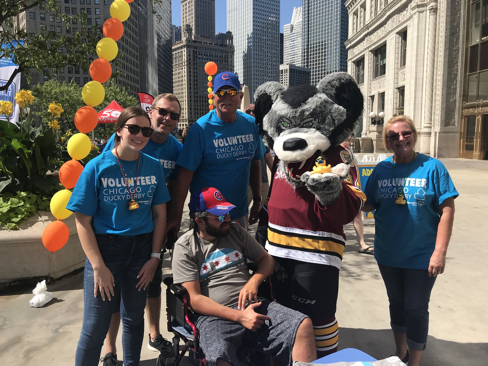 Skates at Chicago Ducky Derby 2019