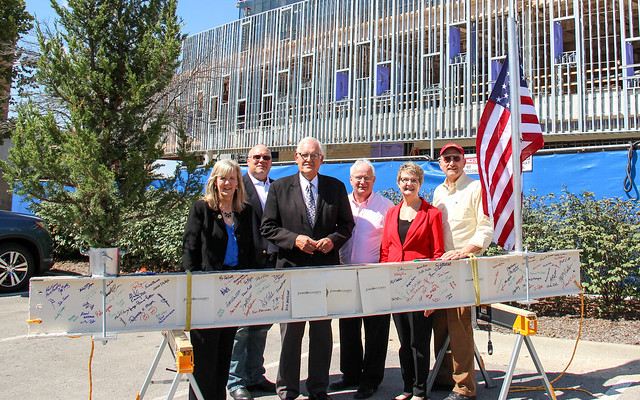 Johnson County Courthouse Topping Out Ceremony