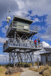 Mt Beerburrum Fire Watch Tower | by bidkev1 and son (see profile)