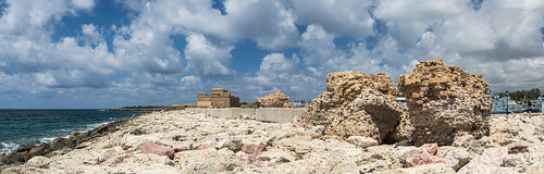 castle cyprus ruin paphoscastle walking landscape panorama paphos holiday spring pafos κύπροσ πάφοσ