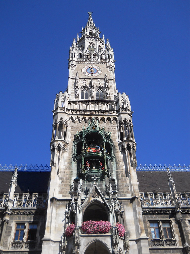 El Carillon de Marienplatz