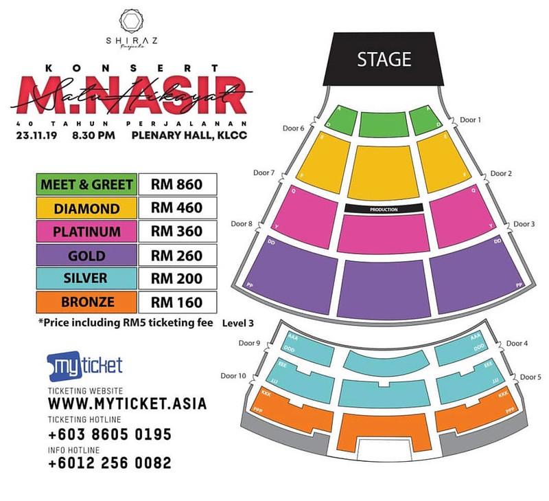 Konsert M. Nasir