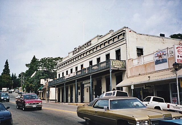 Grass Valley California  - Holbrooke Hotel and Restaurant  -  Historic Hotel
