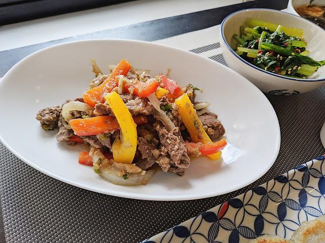 韓式醬油炒牛肉14