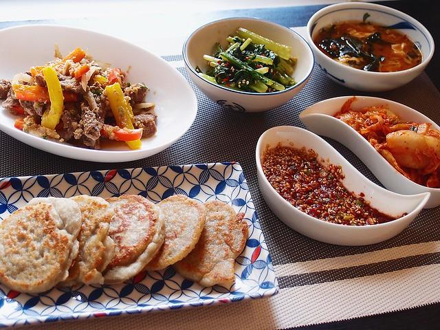 韓式醬油炒牛肉16