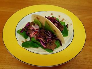 Vegan Bulgogi Fusion Tacos