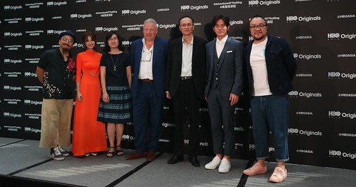 L-R Kitamura Tayoharu,Allison Lin,Kao Ming-Hsiu (Deputy Director-General,Ministry of Culture),Jonathan Spink,Leon Lu (Chairman,Good Image),Chris Wang,Nelson Yeh | by beingjellybeans