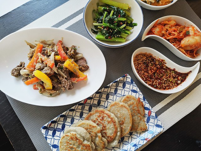 韓式醬油炒牛肉15