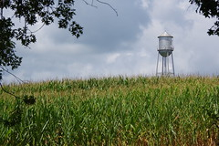 Water tower in Perry County