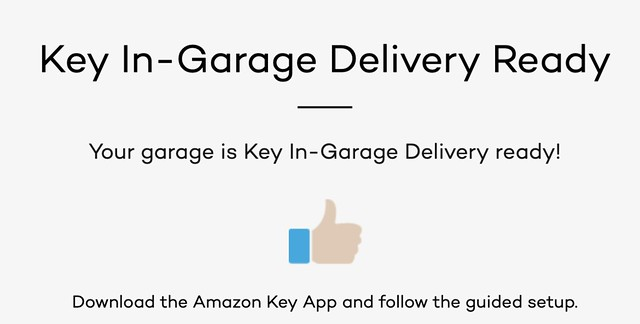 Amazon Key In-Garage Delivery Ready